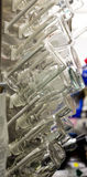 Laboratorium zlewek i butelek Suszyć obrazy royalty free