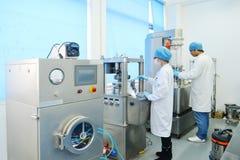 Laboratoriumexperiment stock foto