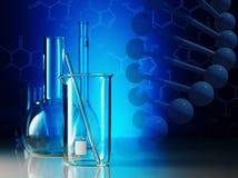 Laboratoriumglasföremål Royaltyfria Foton