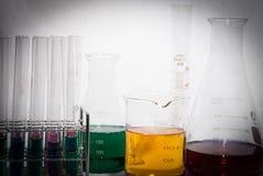 Laboratoriumglaswerk Stock Afbeeldingen