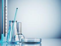 Laboratoriumglaswerk Royalty-vrije Stock Afbeelding