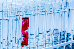 Laboratoriumglaswerk Royalty-vrije Stock Fotografie