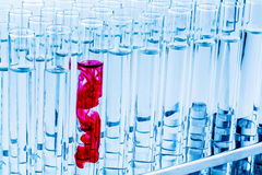 Laboratoriumglaswerk in laboratorium in blab Stock Fotografie