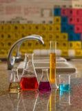 Laboratoriumhjälpmedel 6 Arkivfoto