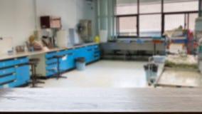 Laboratoriuminre, mall för en affisch, webpage, broschyr & x28; bl Arkivfoton