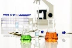 Laboratoriummateriaal Stock Foto's