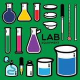 Laboratoriummateriaal Stock Afbeelding
