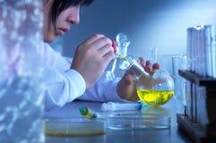 laboratoriumpersonaler Royaltyfri Fotografi