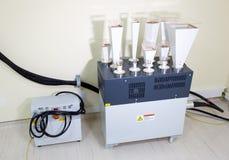 Laboratoriumprovningsutrustning arkivbild