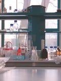 laboratoriumställearbete Royaltyfria Foton
