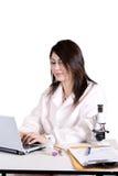 laboratoriumtech Arkivfoto