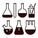 Laboratoriumutrustning stock illustrationer
