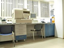 Laboratory. Microbiologic aseptic, profesional laboratory analysis Stock Photo