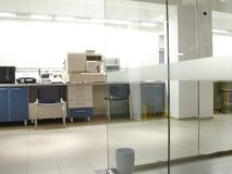 Laboratory. Microbiologic aseptic, profesional laboratory analysis Stock Photography