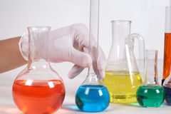 In laboratory Stock Images