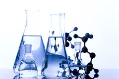 Laboratory. A laboratory is a place where scientific research and experiments are conducted. Laboratories designed for processing specimens, such as Royalty Free Stock Photo