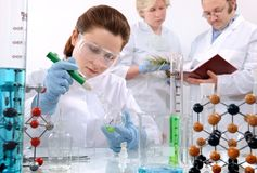 Laboratory Royalty Free Stock Image