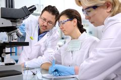 Laboratory Royalty Free Stock Images