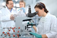 Laboratory Royalty Free Stock Photography