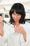 Laboratory assistant Royalty Free Stock Photos