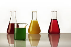 Laboratory beaker Stock Image