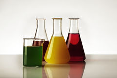 Laboratory beaker Royalty Free Stock Photography