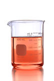 Laboratory Beaker with Colored Liquid Stock Images