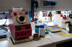 Laboratory for chemical analysis Royalty Free Stock Photo