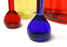 Laboratory colors Stock Photography