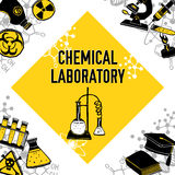 Laboratory corner concept Royalty Free Stock Images