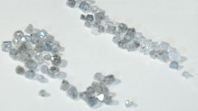 Laboratory-created, lab-grown, or man-made diamonds stock video