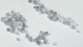 Laboratory-created, lab-grown, or man-made diamonds stock video