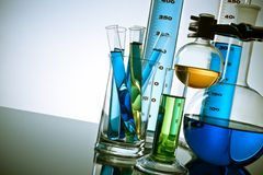 Laboratory Equipment Royalty Free Stock Photos