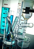 Laboratory equipment Royalty Free Stock Image