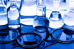 Laboratory equipment Royalty Free Stock Images