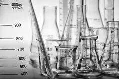 Laboratory Equipment in Science Research Lab Royalty Free Stock Image