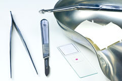 Laboratory examination Stock Photography