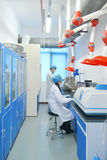 Laboratory experiment Royalty Free Stock Photography