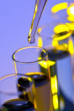 Laboratory Experiment in Science Research Lab Stock Photos