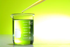 Laboratory Experiment in Science Research Lab Stock Images