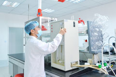 Laboratory experiment Royalty Free Stock Images