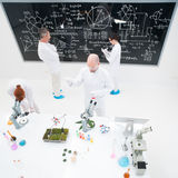 Laboratory experimental studies Royalty Free Stock Photos