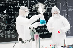 Laboratory experimental testing Royalty Free Stock Photography