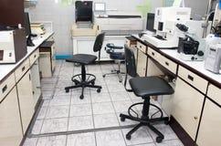 Laboratory facilities. In the hospital stock photo