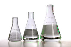 Laboratory Falsks Stock Photos