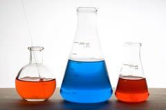 Laboratory flask Royalty Free Stock Photos