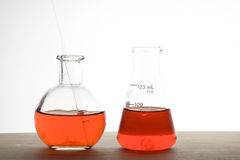 Laboratory flask Royalty Free Stock Photography