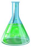 A laboratory flask Stock Image