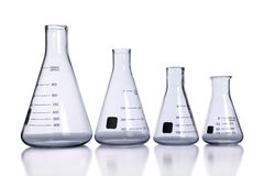 Laboratory Flasks Royalty Free Stock Photography