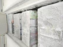 Laboratory freezer Royalty Free Stock Photo
